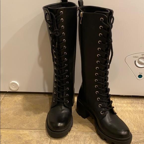 Madden Girl Shoes   Dorian Boot Knee